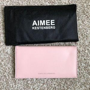 Aimee Kestenberg Pink Wallet New!